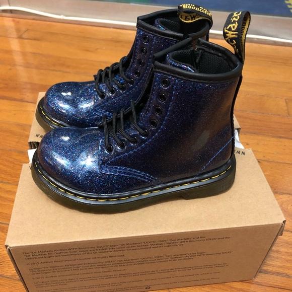 Blue Glitter Boots Toddler | Poshmark